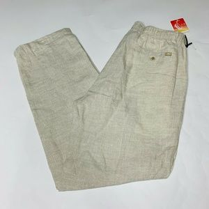 Tommy Bahama Pants Size Medium 33 Inseam Linen New